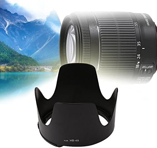 Bayonet Petal Reversible Lens Hood for Nikon AF-S 70-200mm f//2.8G II HB-48 Bayonet Mount Camera Lens Hood Victoria-ACX