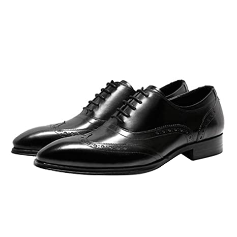 3dcad90a575fc Amazon.com: LYMYY Men's Shoes, Handmade High-End Business Shoes ...