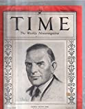 Time Magazine 1933 November 06 George Nelson Peek