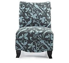 Amazon.com: Hebel Donovan Accent Bardot Chair | Model ...