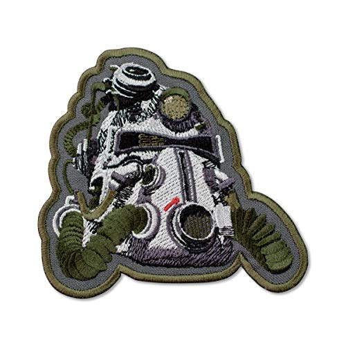 Fallout 3 T-51b Power Helmet Embroidered Patch Iron On (3.7