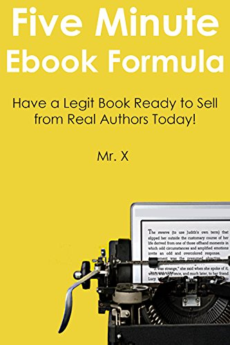 MINUTE KINDLE FORMULA 2016 Update Have A Legit Book Ready To Sell From