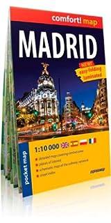 Madrid, plano callejero plastificado de bolsillo. Escala 1:10.000. ExpressMap. (