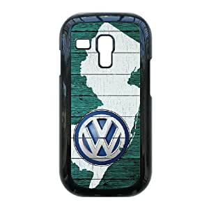 Samsung Galaxy S3 Mini i8190 Cases Cell Phone Case Cover black Volkswagen Car Logo 5T6T914514