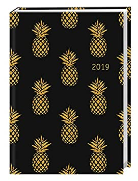 Golden PINEAPPLES Calendario libro A6 2019 Agenda Calendario ...