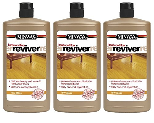 (3PACK) Minwax 609604444 Hardwood Floor Reviver, 32 ounce, Low Gloss