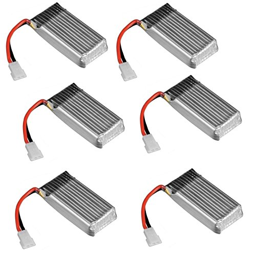 6 x Quantity of Dromida Verso Battery 3.7v 380mAh 25c Li-Po RC Part – FAST FROM Orlando, Florida USA!