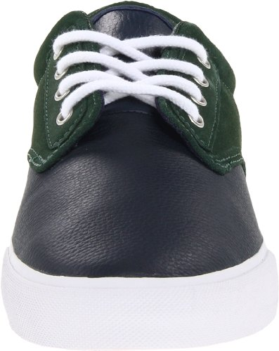 Lacoste Heren Barbados Lms L! Ve Sneaker Donkerblauw / Groen