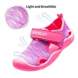 HOBIBEAR Girls Water Shoes Quick Dry Lightweight