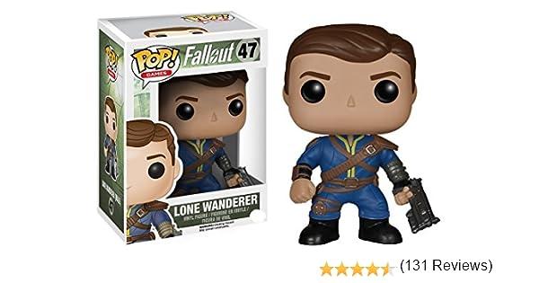 Funko - Figurita Fallout - Trotamundos Solitario Pop Masculino 10cm - 0849803058487: Amazon.es: Juguetes y juegos