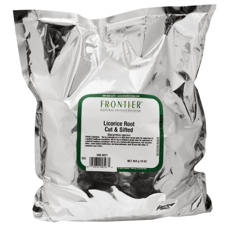 Licorice Root, Cut & Sifted Frontier Natural Products 1 lbs Bulk