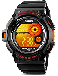 Mens Digital Sports Watch, Military Army Electronic...