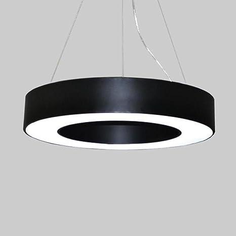 48W diseño de lujo colgante de luz único 1 anillos de techo ...
