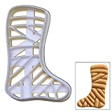 Leg Cast cookie cutter, 1 pc, Ideal for medical themed party