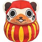 Lottery Monster Hunter Portable 3rd C Award Airou Dharma cushion most (japan import) by Banpresto