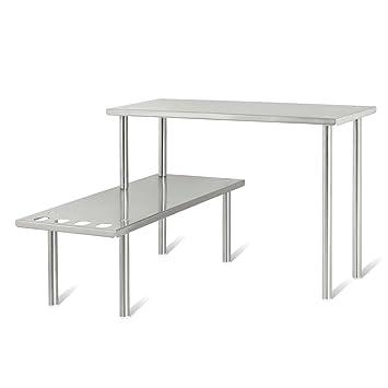 bremermann estantera de cocina estantera universal estante para especias en esquina acero