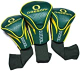 NCAA Oregon Ducks 3 Pack Contour Golf Club Headcover