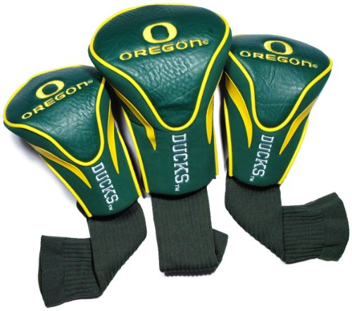 NCAA Oregon Ducks 3 Pack Contour Golf Club Headcover from Team Golf