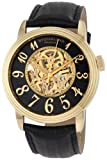 Stuhrling Original Men's 107A.333530 Classic Delphi Apollo Automatic Skeleton Gold Tone Watch