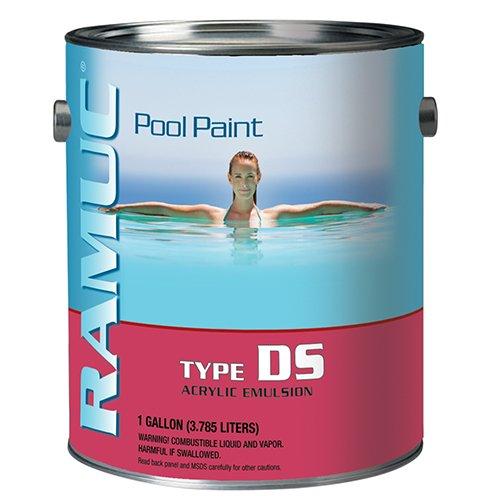 Ramuc DS32801 Type DS Water Based Acrylic Pool Paint - (Ramuc Paint)
