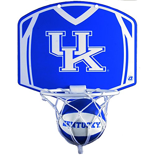 Baden Kentucky Wildcats NCAA Mini Basketball & Hoop Set (Ku Basketball Hoop)