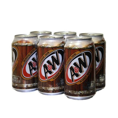 - A & W root beer 355ml
