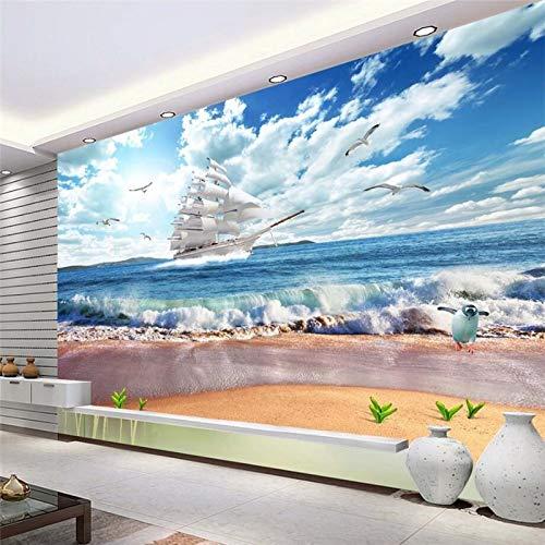 Hojuan Decoracion 3d Papel Pintado Wallpaper Lo Paisaje 3d