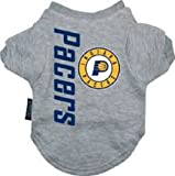 NBA Indiana Pacers Pet T-Shirt, Team Color, Small