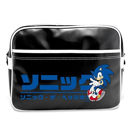 Sonic The Hedgehog Japanese Logo Messenger Bag by Abystyle