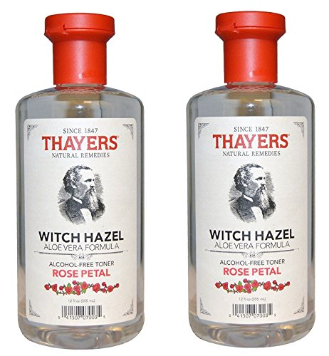 Thayers Alcohol-free Rose Petal Witch Hazel with Aloe Vera ~ 12 oz 51ci 2BPx10xL