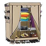 copylegend 69'' High-leg Non-woven Fabric Assembled Cloth Wardrobe Beige