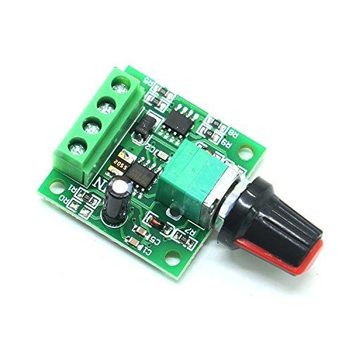IDS Low Voltage Dc 1.8v 3v 5v 6v 12v 2A Motor Speed Controller PWM 1803BK Adjustable Driver Switch