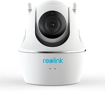 Reolink WiFi Cámara IP Interior 1440P Full HD 2.4GHz/5GHz inalámbrica, con Giratorio & Inclinación, Audio Bidireccional, Visión Nocturna, para Hogar ...