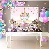 Unicorn Birthday Party Supplies Decorations For