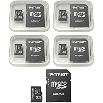 Amazon.com: 4-Pack 64GB Micro SD SDXC Card Plus Adapter ...