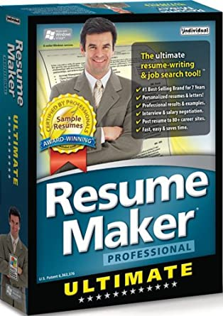 resume maker professional ultimate - Resume Maker