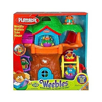 PLAYSKOOL WEEBLES WEEBLY WOBBLY TREE HOUSE: Toys & Games