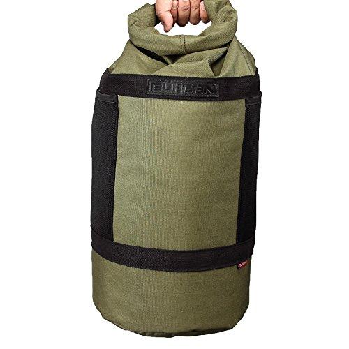 (BURGAN Dry Bag, Multifunction Camping Day Sack (Military Green))