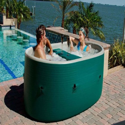 Amazing Amazon.com : AiriSpa Oval Portable Air Frame Spa : Outdoor Spas : Patio,  Lawn U0026 Garden