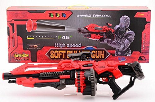 GYD XXXL Soft-Dart Booster Mega Monster Blaster High Speed Bullet Space Crazy Gun