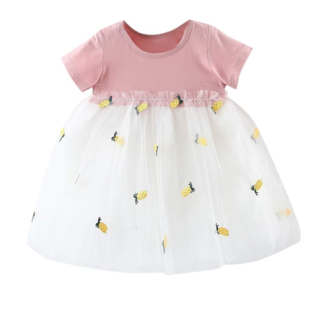 Baby Girls Birthday Dress Tutu Dress Flower Princess Dress Pageant Party Dance Daily Outfits Evening Gowns Mnyycxen