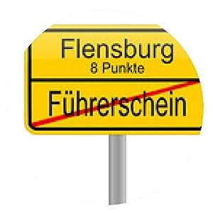 alfombrilla de ratón Flensburg 8 puntos = pérdida de la licencia - ronda - 20cm