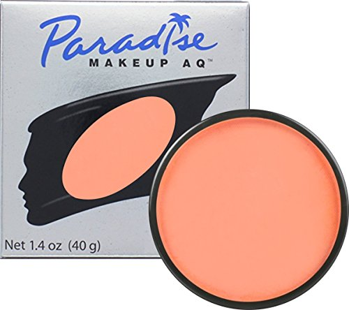 Mehron Makeup Paradise Makeup AQ Face & Body Paint - Coral, Tropical Series - 40gm