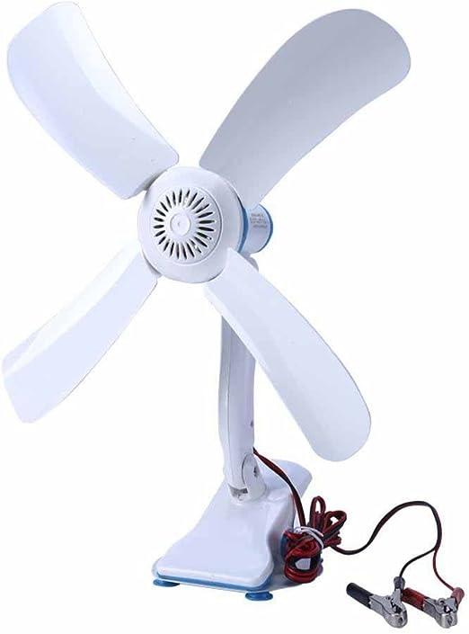 Kaxima 12V pinza ventilador DC 12V DC ventilador sobremesa pinza ...