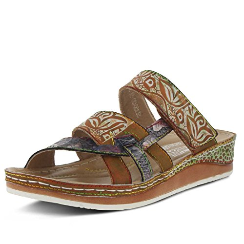 L'Artiste by Spring Step Women's Caiman Slide Camel outlet free shipping cheap pick a best discount best sale clearance visit new hetaW