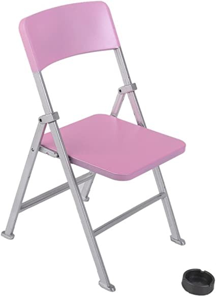 """1 x New 1//6 Scale Furniture Chair For Barbie Doll /& 12/"""" Action Figures Blue"""