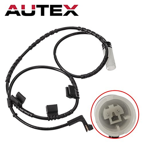 AUTEX 1pc Rear Brake Pad Wear Sensor 34356789330 5S11570 compatible with Mini Cooper 2007 2008 2009 2010 2011 2012 2013 2014/Mini Cooper 07 08 09 10 11 12 13 14