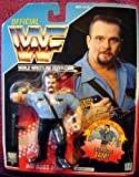 WWF Big Boss Man Wrestling Action Figure by Hasbro WWE WCW ECW