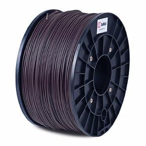 BuMat ABS 1.75mm, 1kg, 2.2lb Brown Filament Printing Material Supply Spool for 3D Printer ABSBR
