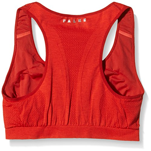 "FALKE sujetador deportivo Madison mujeres "" s bajo apoyo Rojo - Red - Mars Red"